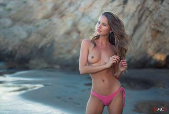 on the beach artistic nude photo by artist gonzalo villar