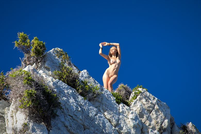 on the summit artistic nude photo by photographer aspiring imagery