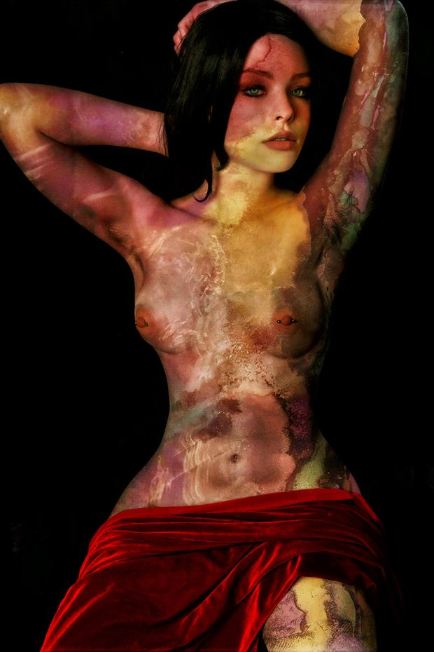 on the wild side artistic nude photo by photographer mykel