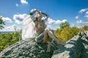 on top of the world artistic nude photo by photographer james w