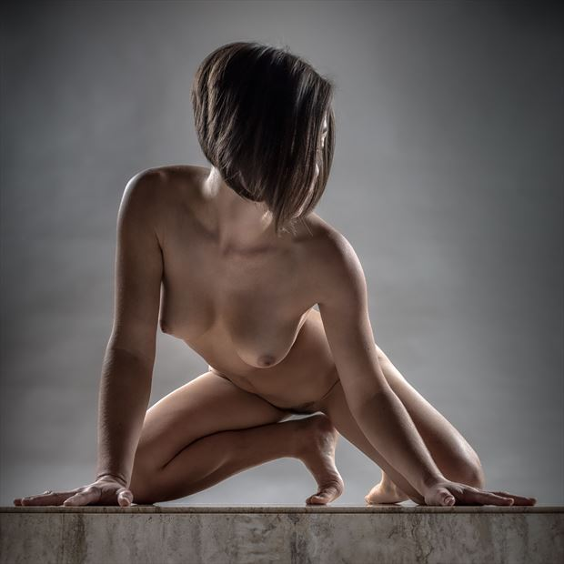 on your mark artistic nude photo by photographer rick jolson