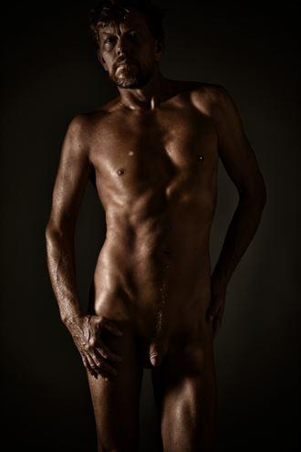 one light artistic nude photo by photographer r pedersen