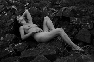 one with nature artistic nude photo by photographer mick egan