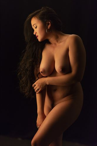 only one candle sensual photo by photographer alan h bruce