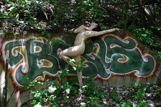 open artistic nude photo by model her stillness dances