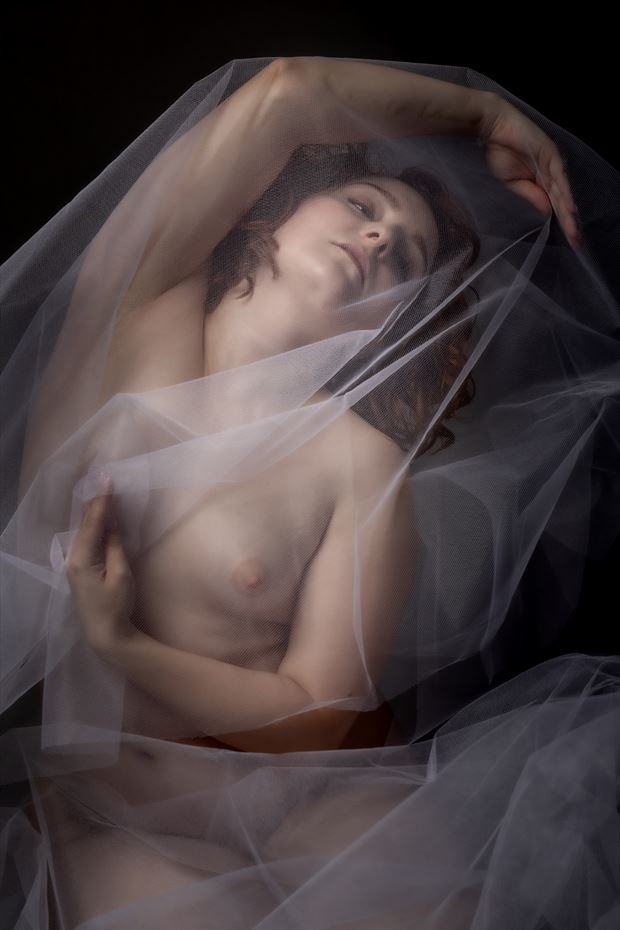 ophelia artistic nude photo by photographer claude frenette