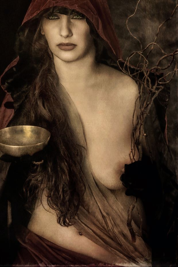 oracle of delphi ll artistic nude photo by photographer mykel moon