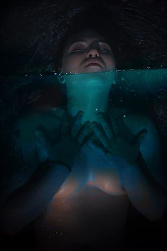 oracle of earth and water artistic nude artwork by artist todd f jerde