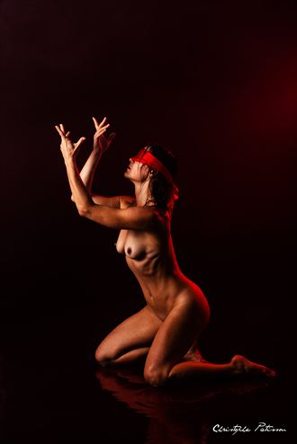 orgasmic red artistic nude photo by photographer pose %C3%A9motions