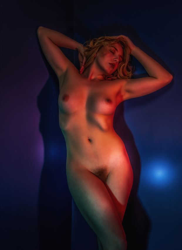 out of blue artistic nude artwork by photographer neilh