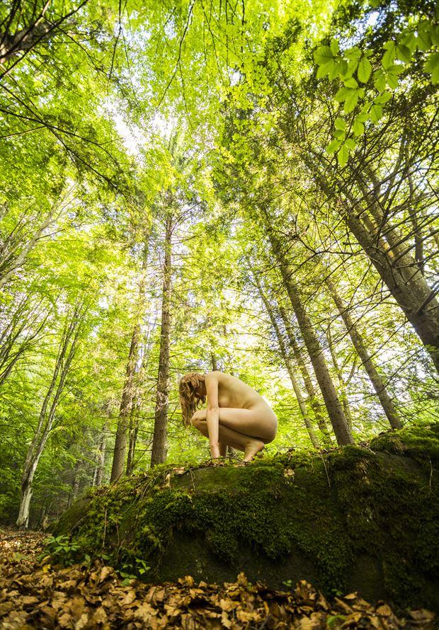 outdoor artistic nude photo by photographer turcza hunor