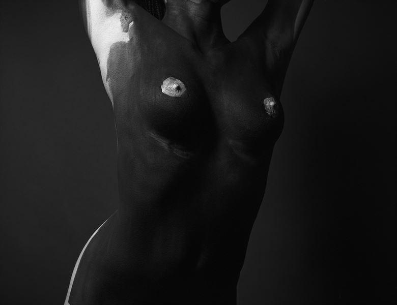 p a i n t e d ii artistic nude artwork by photographer lomobox