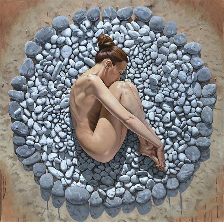 painting or drawing artwork by artist joe m ruiz