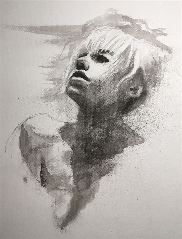painting or drawing artwork by artist nicodessin