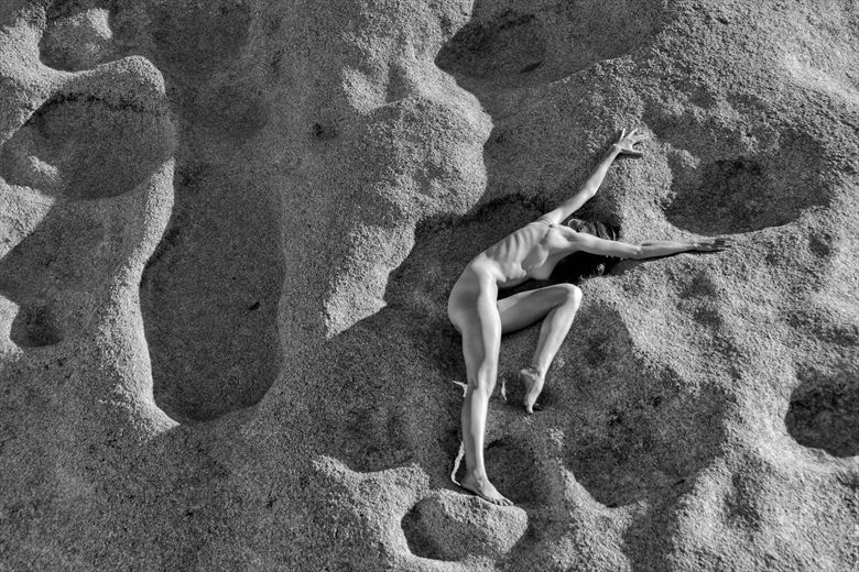paleolithic nude artistic nude photo by photographer philip turner