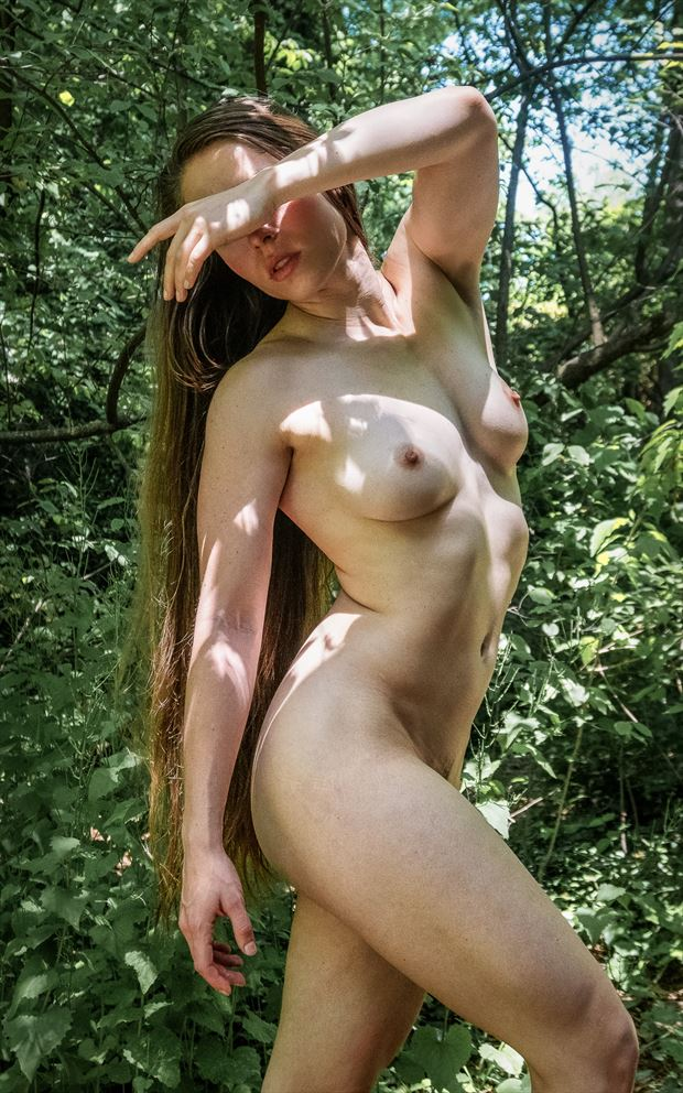 panda in the wild artistic nude photo by photographer rick jolson