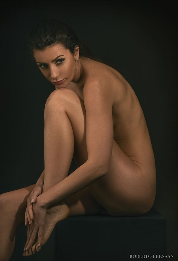paola artistic nude artwork by photographer roberto bressan