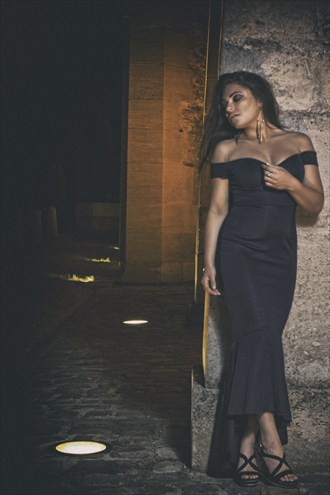 paris by night Fashion Photo by Model MiaT