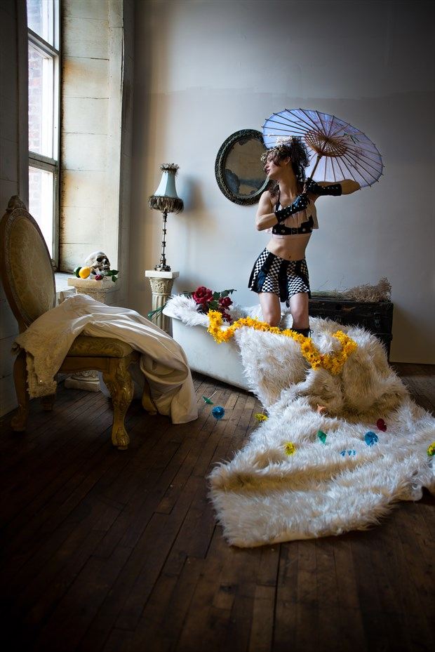 pat bourque Fantasy Artwork by Model chikara moth