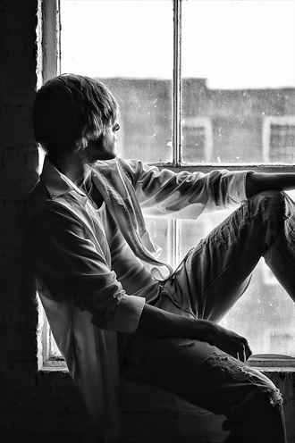 patrick window figure study photo by photographer dan simoneau