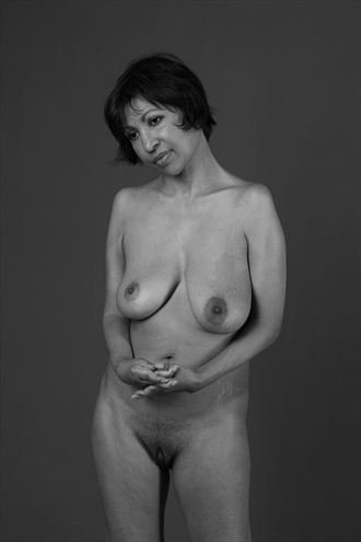 pause button artistic nude photo by photographer ab union
