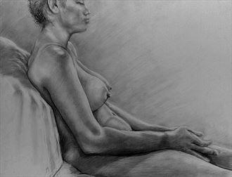 peace artistic nude artwork by photographer john mark clum