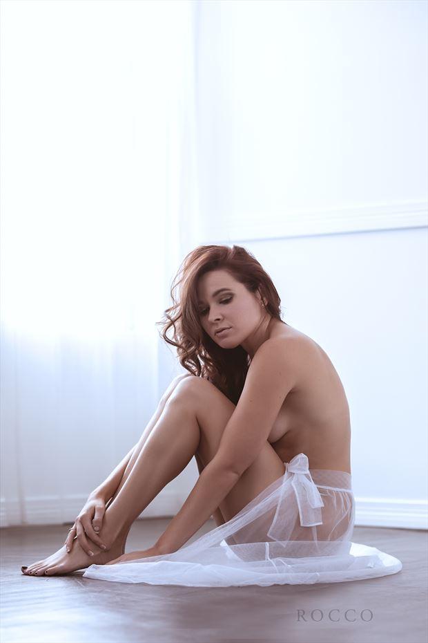 peace in her heart artistic nude photo by model missmissy