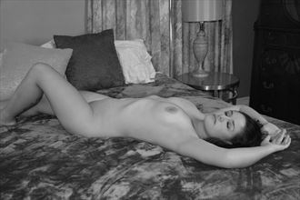 peace washed out artistic nude photo by photographer tj