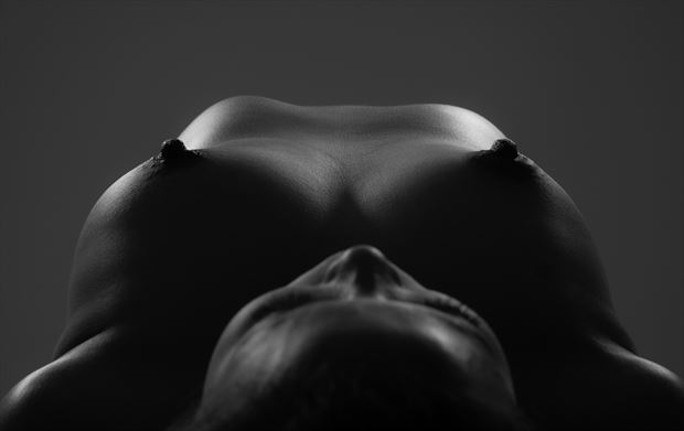 peaks artistic nude photo by photographer allan taylor