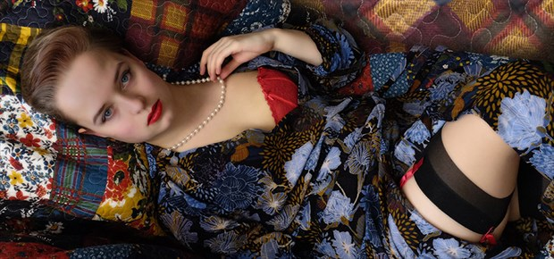 pearls Glamour Photo by Photographer Malcolm  Mellon