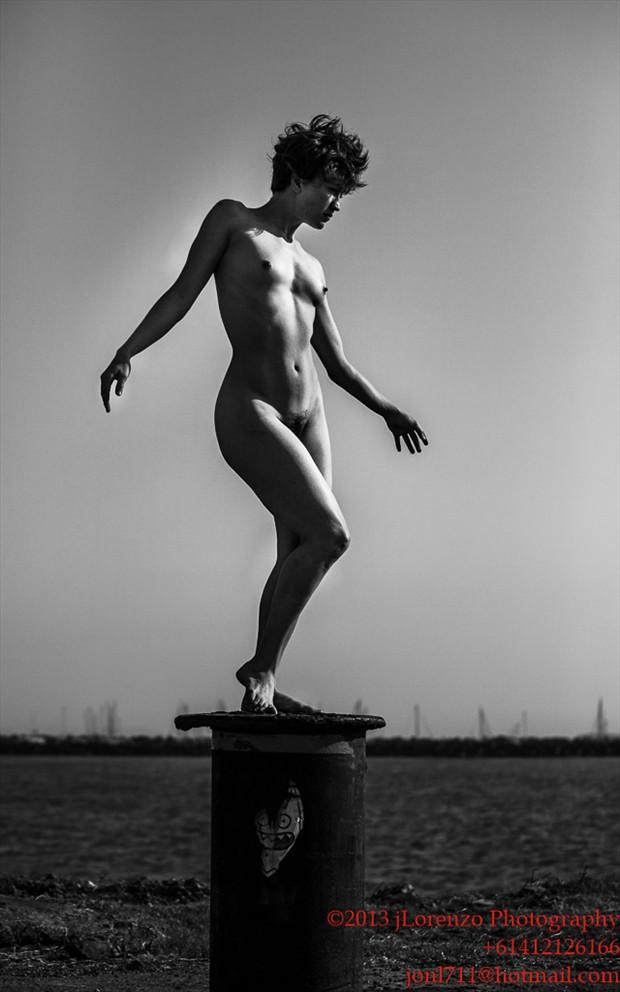 pedestal Artistic Nude Photo by Model Stephanie Anne