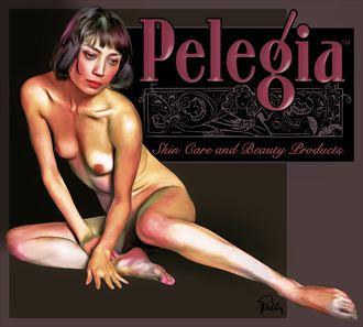 pelegia artistic nude artwork by artist van evan fuller