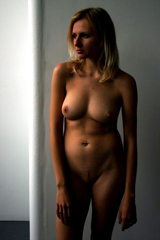 pensive iana artistic nude photo by photographer silverline images
