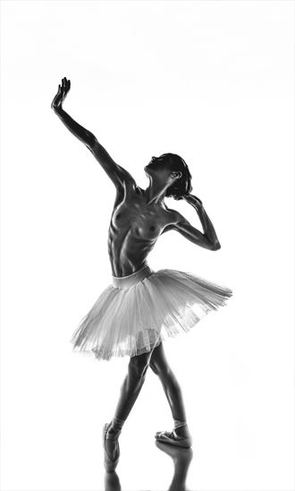 penumbra ballerina series sensual photo by photographer julian i