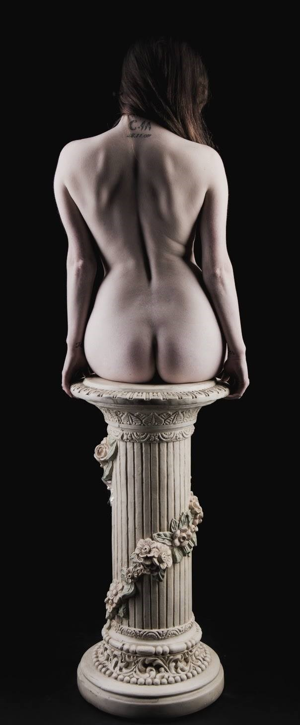 perfect on a pedastal Artistic Nude Photo by Model TheaRosee