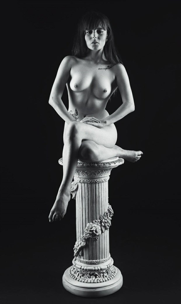 perfection on a pedestal  Artistic Nude Photo by Model TheaRosee