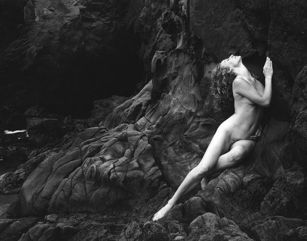 persephone artistic nude photo by photographer steve anchell