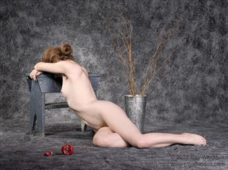 persephone dreams of spring artistic nude photo by photographer roy whiddon