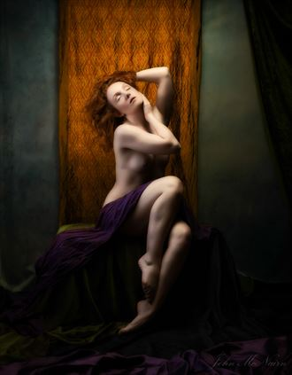 phantasy of colour artistic nude photo by photographer john mcnairn