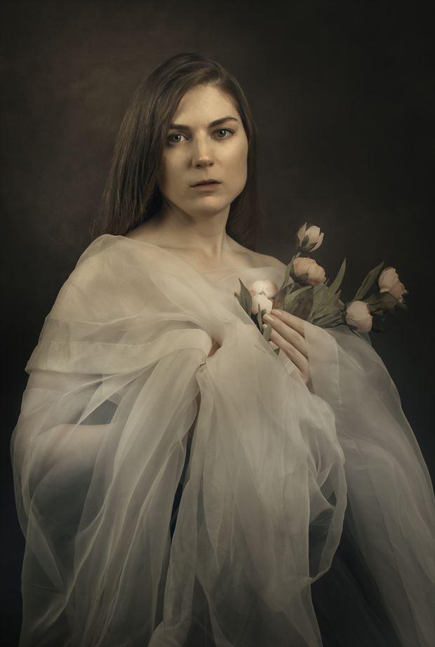 photo manipulation portrait artwork by model jammrellim