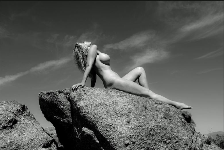 photographer werner lobert artistic nude photo by model sirsdarkstar