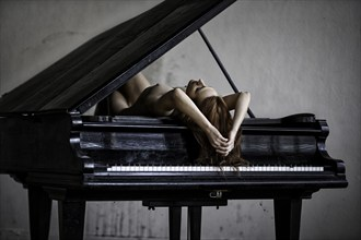 piano lessons Artistic Nude Photo by Artist inglelandi