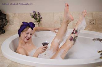 pinup series artistic nude artwork by model missshawnak