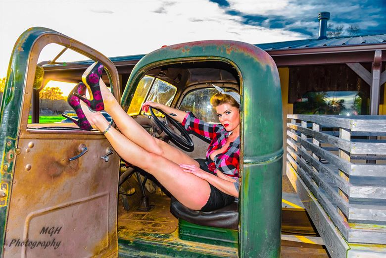 pinup time2 vintage style photo by photographer mghphotography