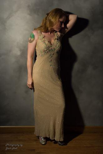 playing with a single light bulb studio lighting photo by photographer jack hall