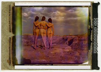 polacolor 4x5 exp 03 2003 artistic nude photo by photographer soulcraft