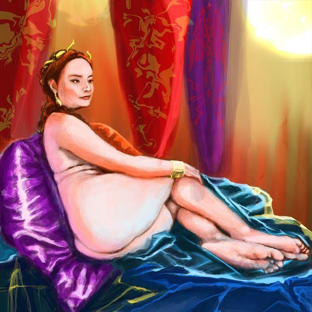 pompei 3 cosplay artwork by artist nick kozis