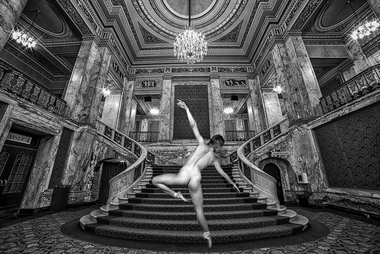 poppyseed dancer appearing at the palace artistic nude photo by photographer robert l person