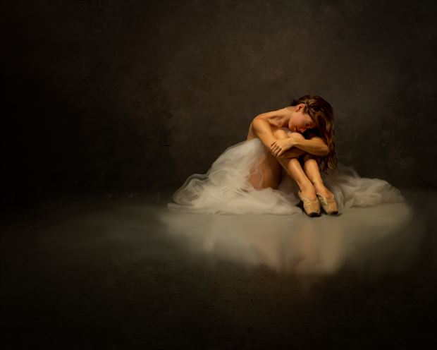 poppyseed dancer at rest painted artistic nude artwork by photographer doc list