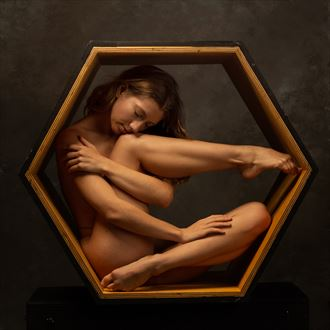 poppyseed dancer in the hexagon artistic nude photo by photographer doc list